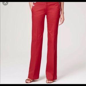 NWT Marisa strait Loft pants